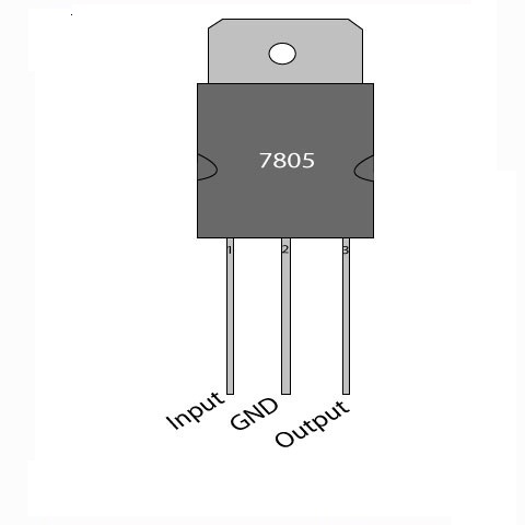 IC 7805: Voltage Regulator