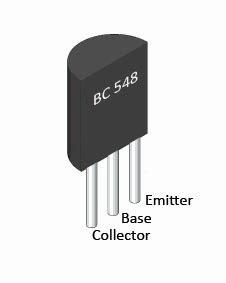BC548 and BC368 Transistor Pinout