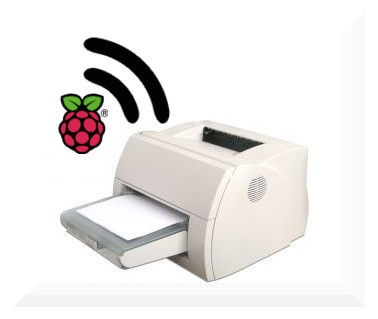 Turn any printer into a wireless printer with a Raspberry Pi